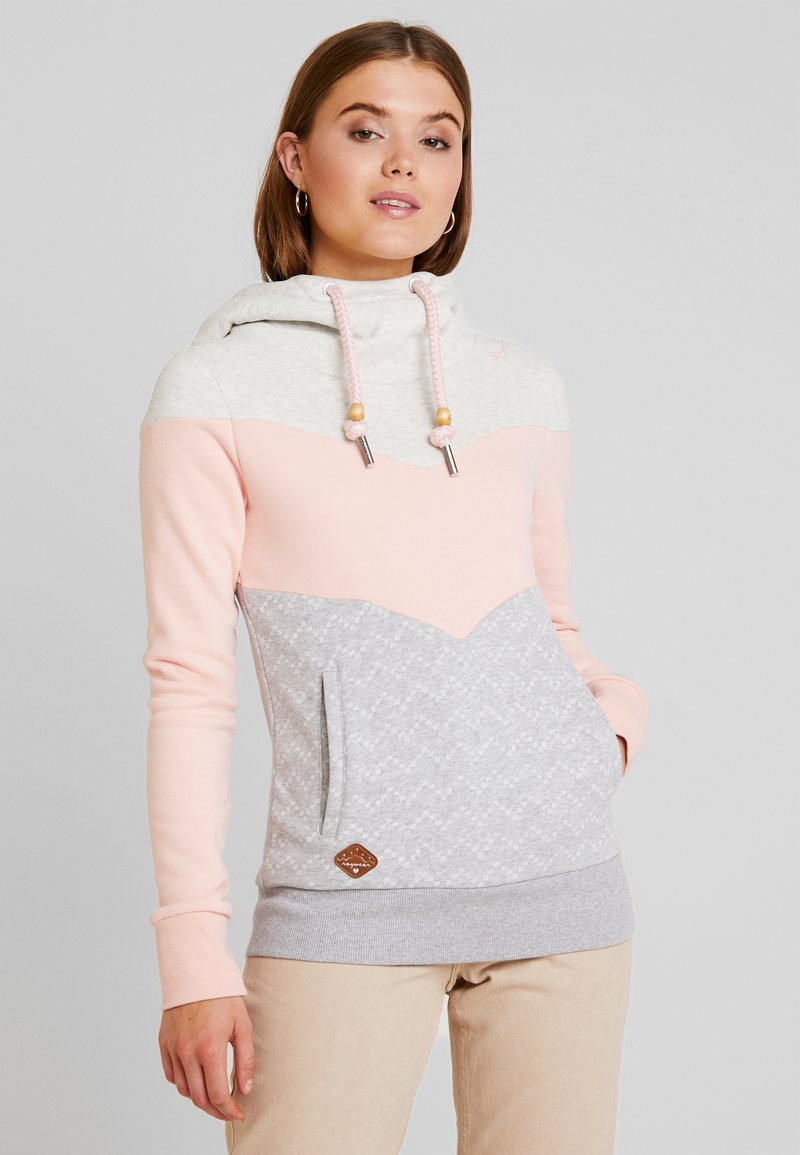 Ragwear - TREGA - Kapuzenpullover - light pink