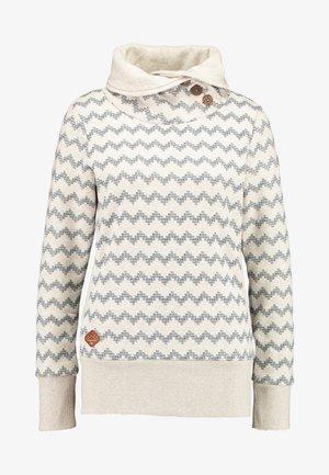 ZIG ZAG - Sweatshirt - beige