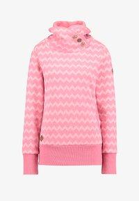 Ragwear - ZIG ZAG - Sweatshirt - pink - 5