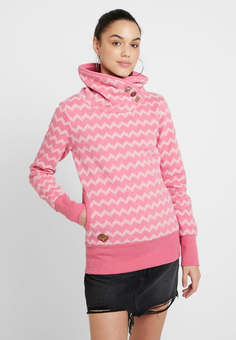 Ragwear - ZIG ZAG - Sweatshirt - pink