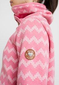 Ragwear - ZIG ZAG - Sweatshirt - pink - 4