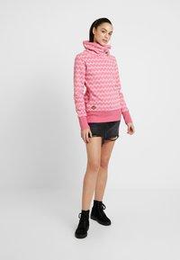 Ragwear - ZIG ZAG - Sweatshirt - pink - 1