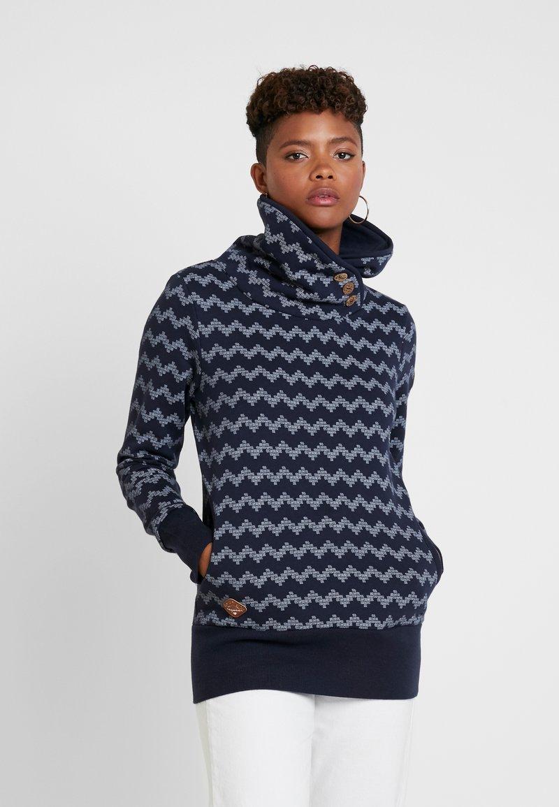 Ragwear - ZIG ZAG - Sweatshirt - navy