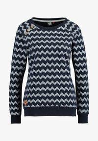 Ragwear - DARIA ZIG ZAG - Sweater - navy - 3
