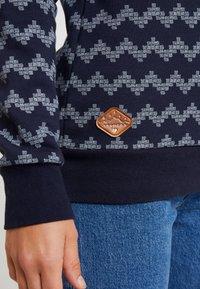 Ragwear - DARIA ZIG ZAG - Sweater - navy - 4