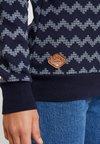 Ragwear - DARIA ZIG ZAG - Sweatshirt - navy