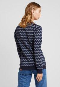 Ragwear - DARIA ZIG ZAG - Sweater - navy - 2