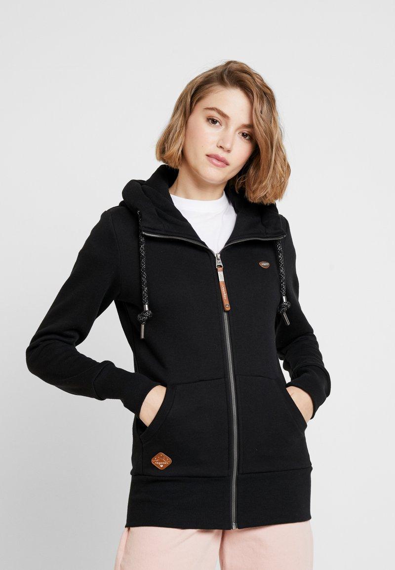 Ragwear - NESKA ZIP - Zip-up hoodie - black