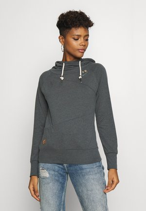 FUGE - Sweat à capuche - grey