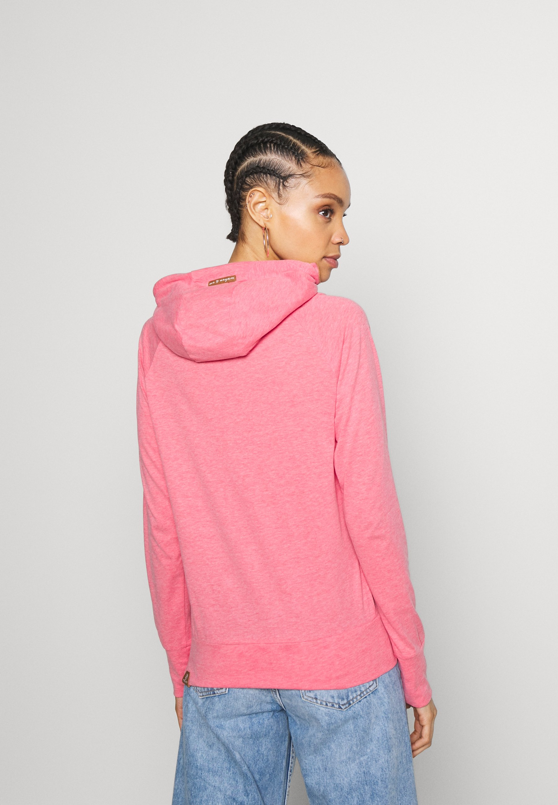 Ragwear FUGE - Bluza z kapturem - rose