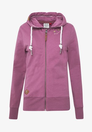 PAYA - veste en sweat zippée - lilac