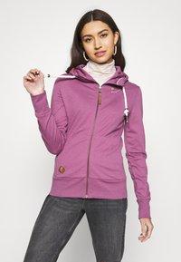 Ragwear - PAYA - veste en sweat zippée - lilac - 0