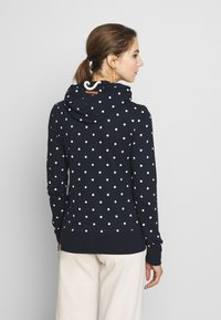 Ragwear - PAYA DOTS - Zip-up hoodie - navy - 2