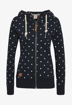 PAYA DOTS - Zip-up hoodie - navy