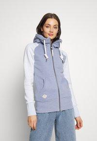 Ragwear - NESKA ZIP TWOTONE - Zip-up hoodie - lavender - 0