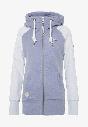 NESKA ZIP TWOTONE - Mikina na zip - lavender