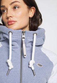Ragwear - NESKA ZIP TWOTONE - Zip-up hoodie - lavender - 4