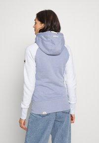 Ragwear - NESKA ZIP TWOTONE - Zip-up hoodie - lavender - 2