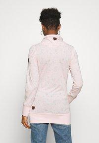 Ragwear - NESKA - Bluzka z długim rękawem - light pink - 2