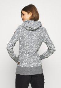 Ragwear - YODA ORGANIC - Sweat à capuche - grey - 2