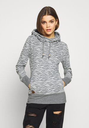 YODA ORGANIC - Bluza z kapturem - grey