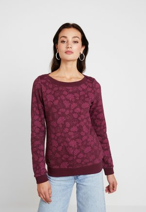 TASHI - Sweatshirt - wine red
