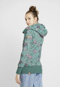 Ragwear - NESKA FLOWERS ZIP - Hettejakke - green - 2
