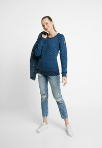 Ragwear - DARIA ZIG ZAG - Sweater - denim blue - 1