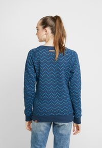 Ragwear - DARIA ZIG ZAG - Sweater - denim blue - 2