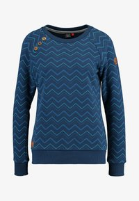 Ragwear - DARIA ZIG ZAG - Sweater - denim blue - 4
