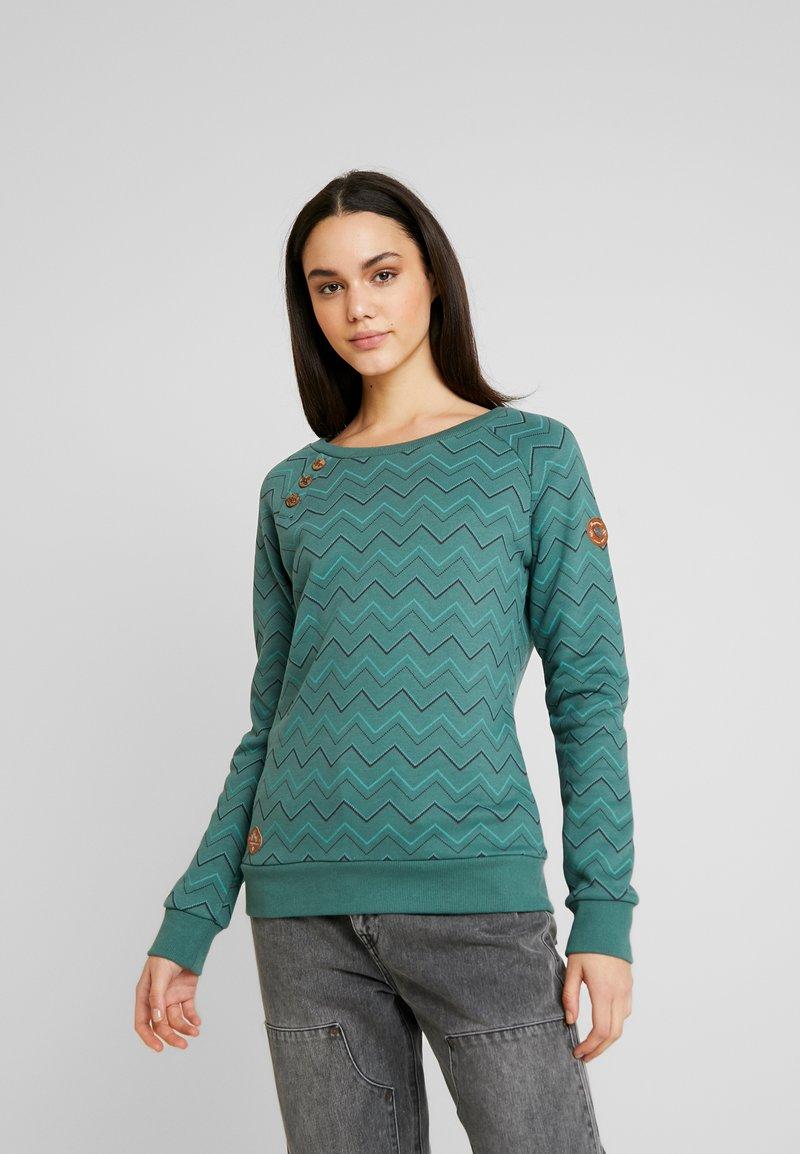 Ragwear - DARIA ZIG ZAG - Sweater - green