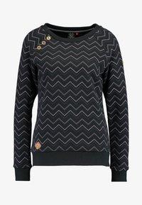 Ragwear - DARIA ZIG ZAG - Sweatshirt - black - 3