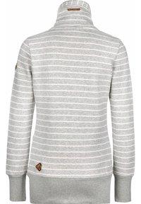 Ragwear - RYLIE - Zip-up hoodie - light grey - 1