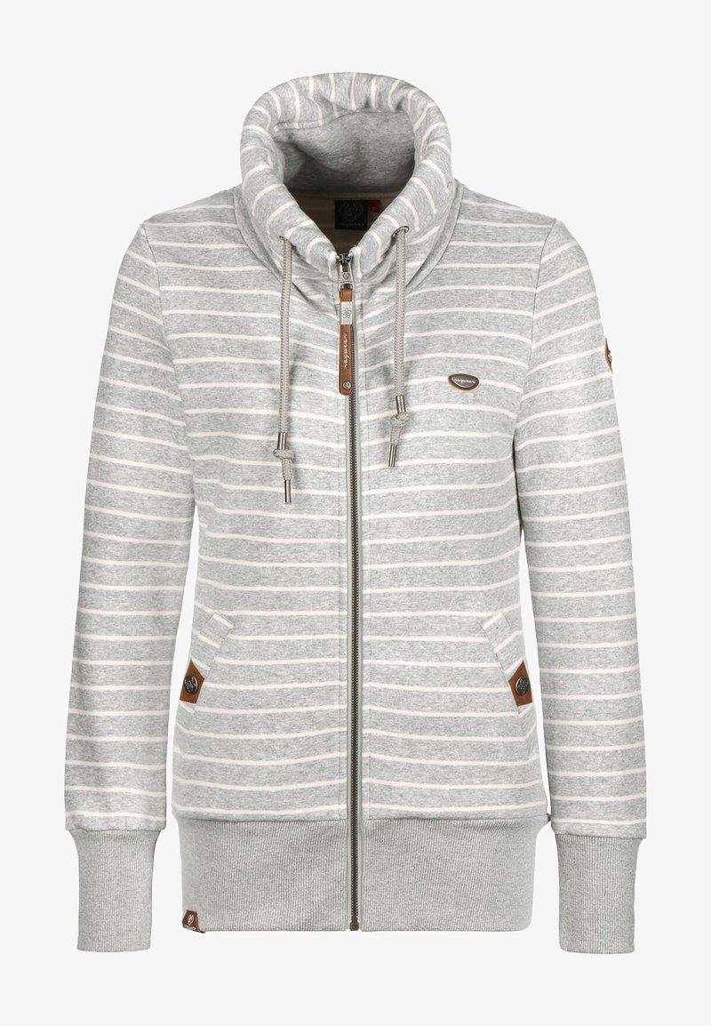 Ragwear - RYLIE - Zip-up hoodie - light grey