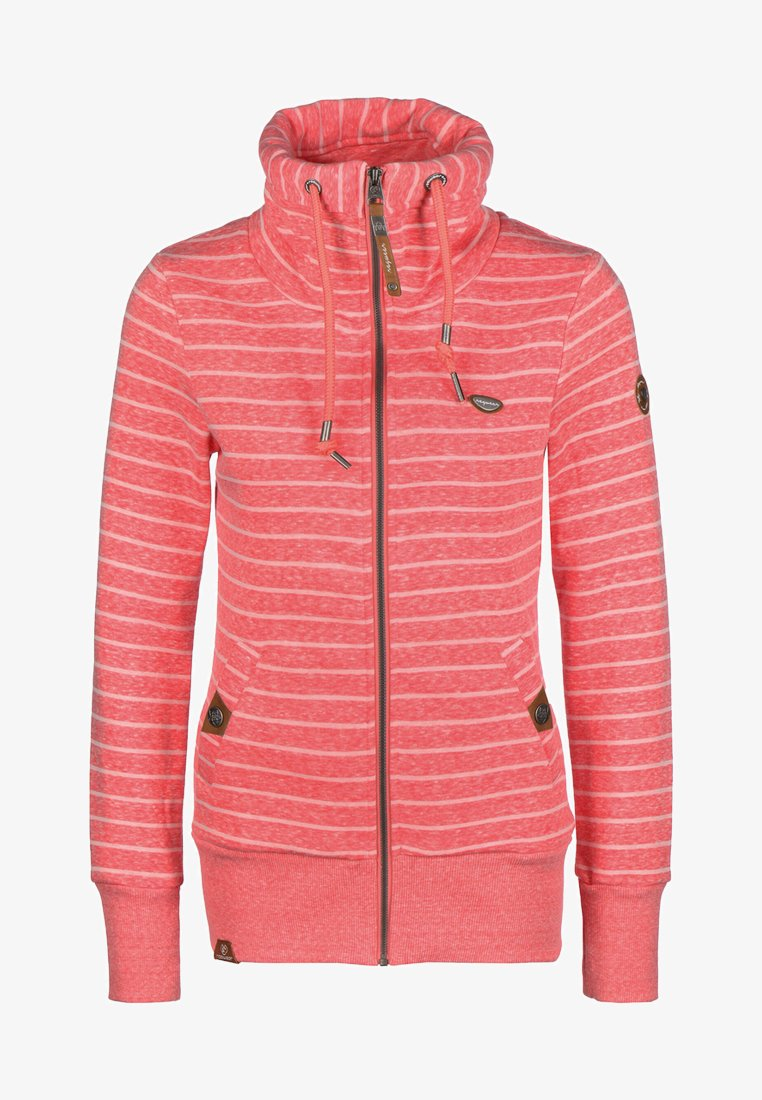 Ragwear - RYLIE - Zip-up hoodie - coral