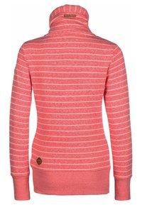 Ragwear - RYLIE - Zip-up hoodie - coral - 1