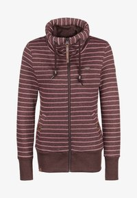 Ragwear - RYLIE - Zip-up hoodie - wine red - 0