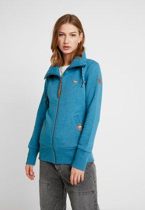 RYLIE ZIP - Zip-up hoodie - blue