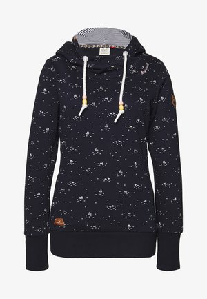GRIPY BOATS - Sweat à capuche - navy