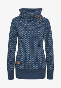 Ragwear - ZIG ZAG - Sweatshirt - blue - 4