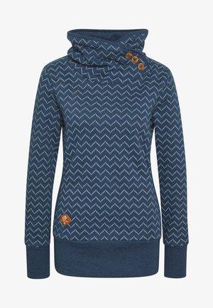 ZIG ZAG - Sweatshirt - blue