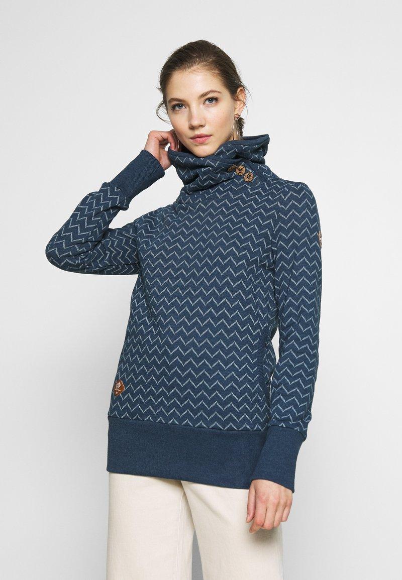 Ragwear - ZIG ZAG - Sweatshirt - blue