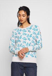 Ragwear - JOHANKA LEAVES - Sweater - white - 0