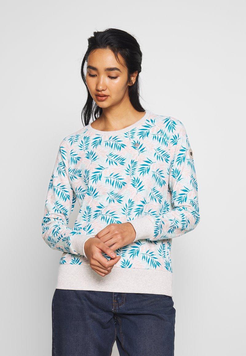 Ragwear - JOHANKA LEAVES - Sweater - white