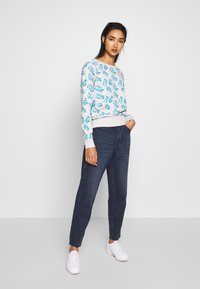 Ragwear - JOHANKA LEAVES - Sweater - white - 1