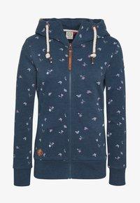 Ragwear - ZIP - Zip-up hoodie - denim blue - 5