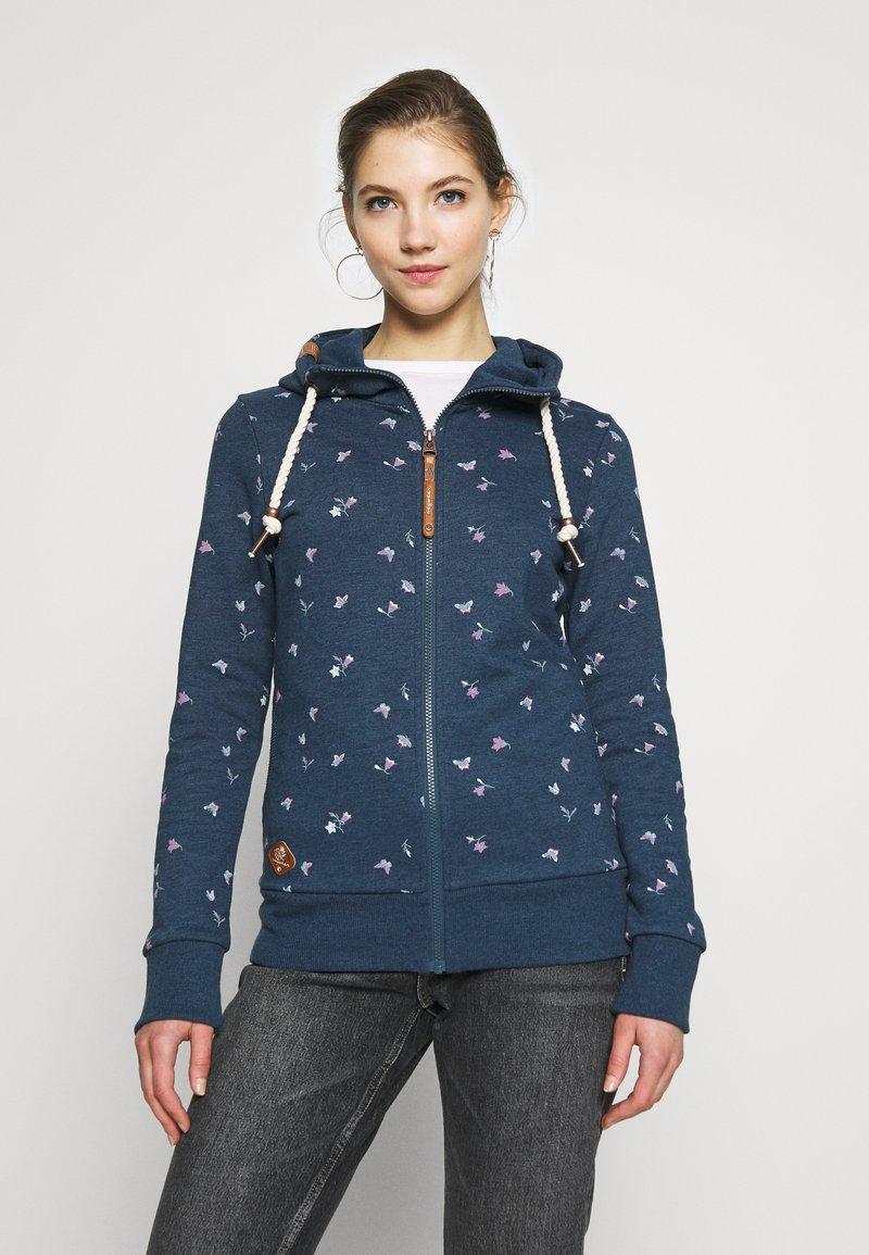 Ragwear - ZIP - Zip-up hoodie - denim blue