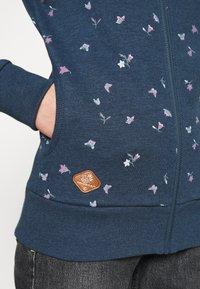 Ragwear - ZIP - Zip-up hoodie - denim blue - 4