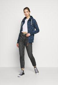 Ragwear - ZIP - Zip-up hoodie - denim blue - 1