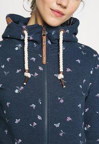 Ragwear - ZIP - Zip-up hoodie - denim blue - 6
